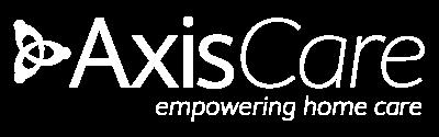 AxisCare Logo White