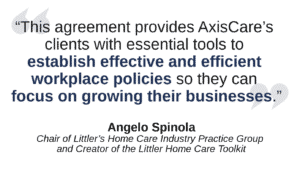 Littler-AxisCare Agreement Quote