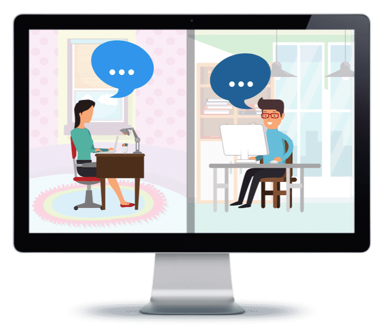 AxisCare User to User Chat