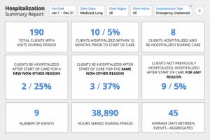 Hospitalization Summary Report