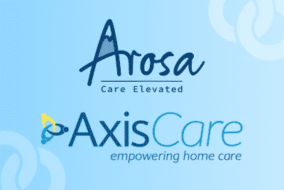 Arosa Chooses AxisCare as Home Care Software Provider