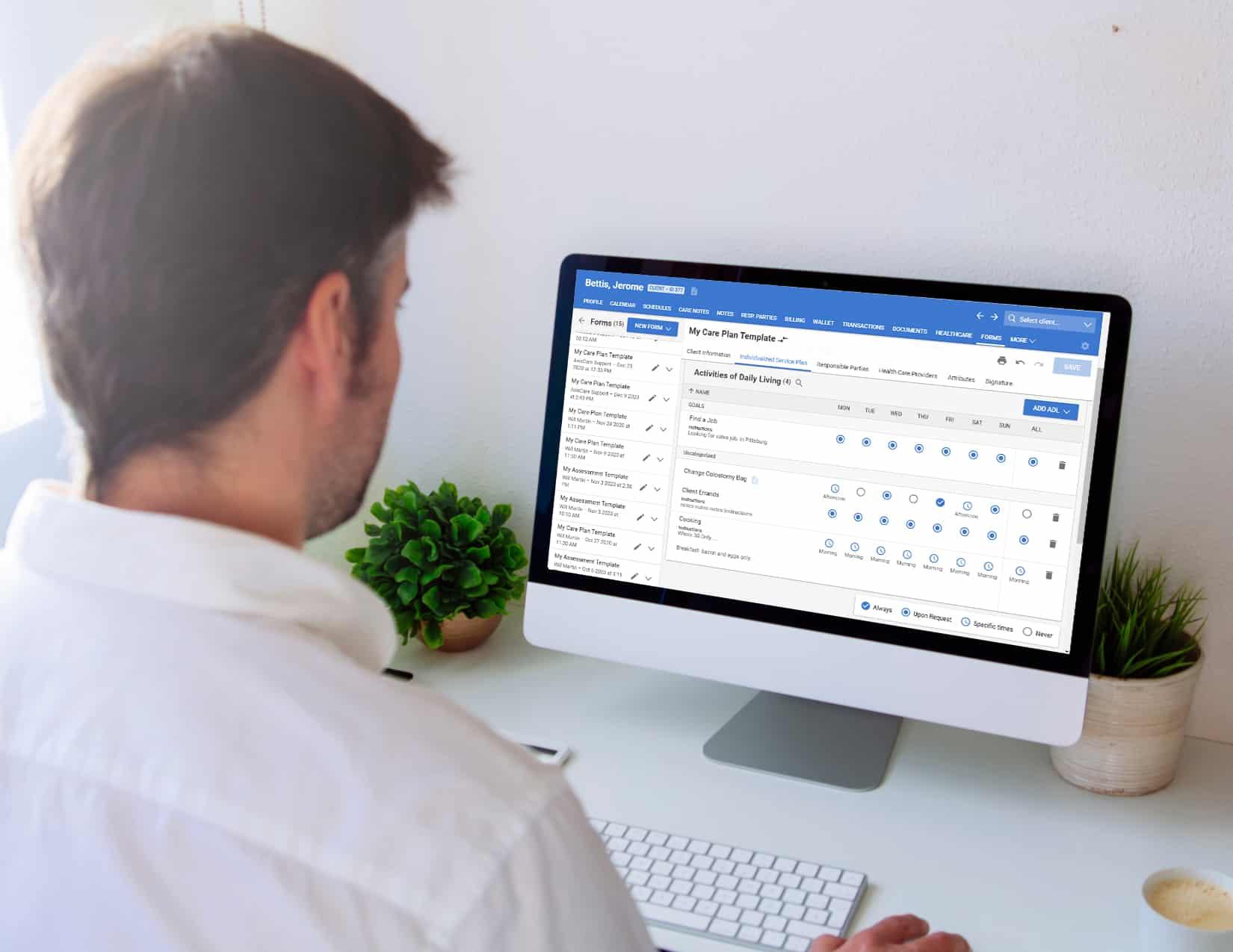 Agency Owner Using Custom Forms