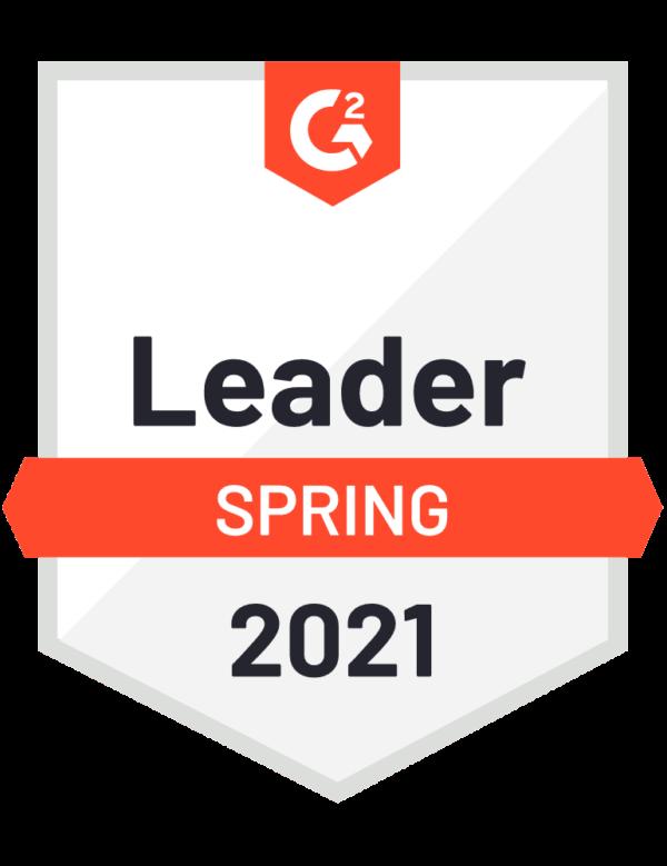 G2Crowd Spring Leader Badge