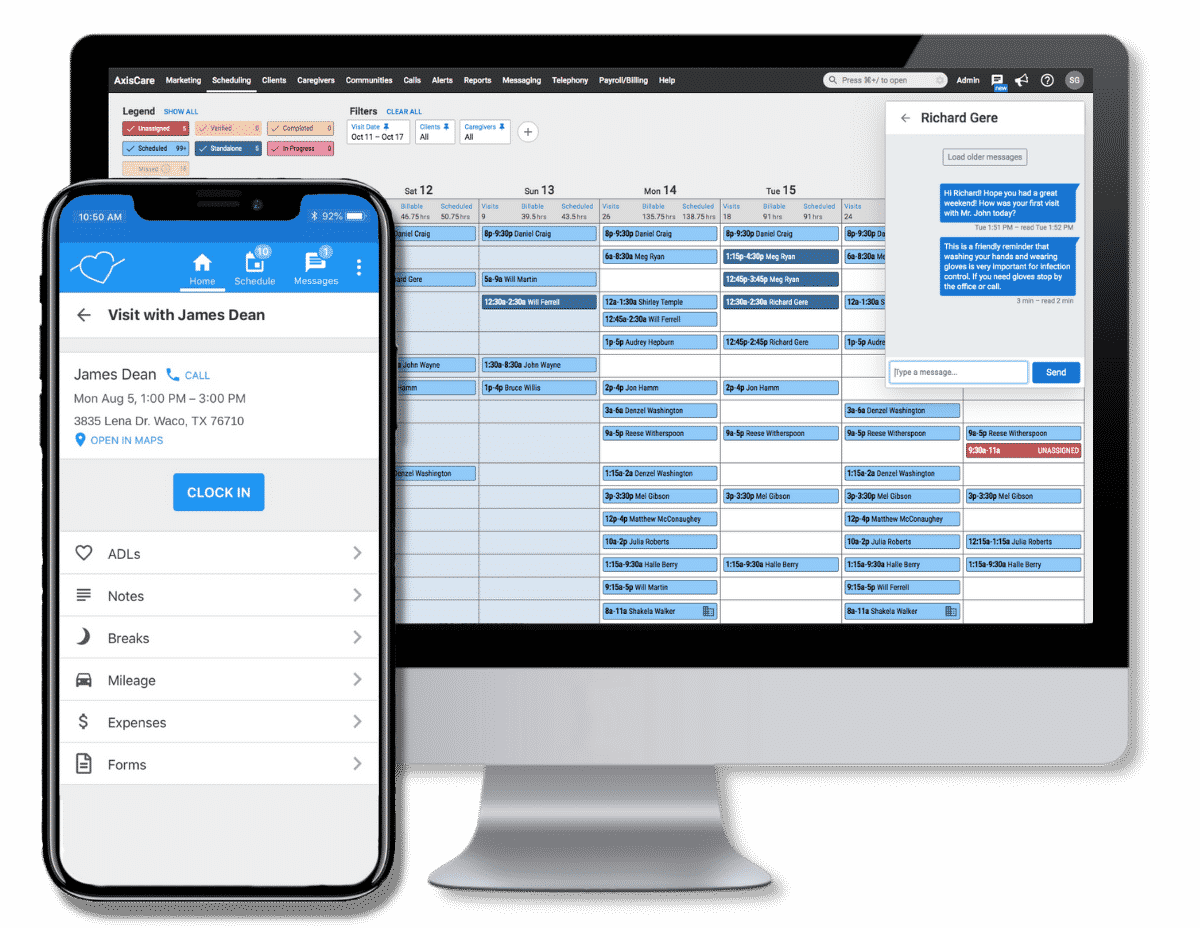Home Care Scheduling Software